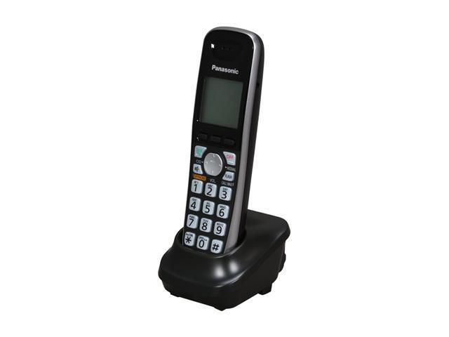 Panasonic KX-TGA401B 1.9 GHz DECT 6.0 1X Handsets Dect 6.0 Plus accessory handset with large easy to read buttons