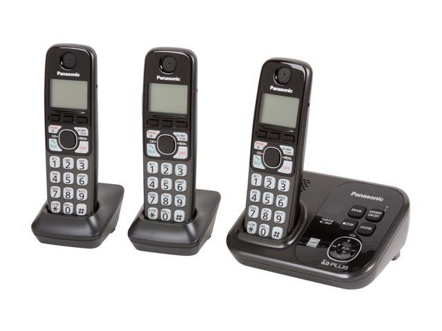 Panasonic KX-TG4733B DECT 6.0 Digital Answering System
