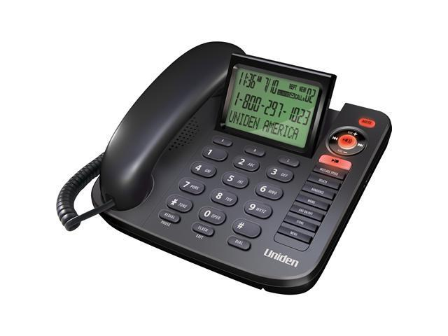 Uniden 1380BK Basic Phone with Answering System