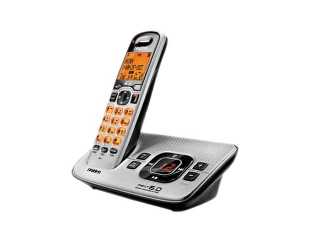Uniden D1680-3 1.9 GHz DECT 6.0 3X Handsets Cordless Phones. Expendable up to 12 Handsets