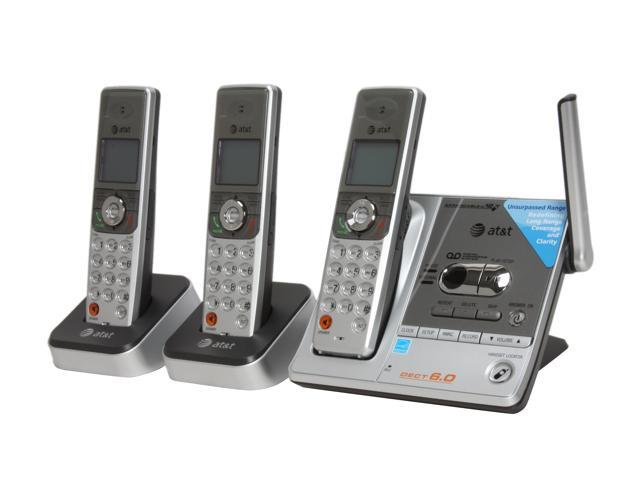 AT&T SL82318 1.9 GHz 3X Handsets DECT 6.0 Three Handset Bundle with Caller ID and ITAD