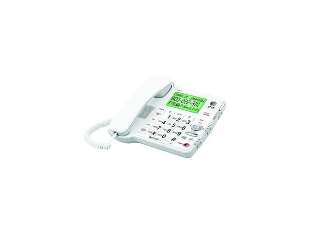 AT&T CL4939 1-line Operation Corded Phone Integrated Answering Machine