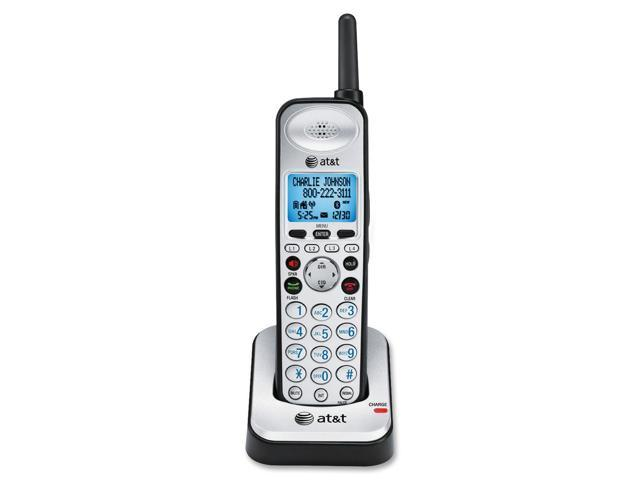 AT&T SB67108 Black/Silver 4-Line Accessory Handset