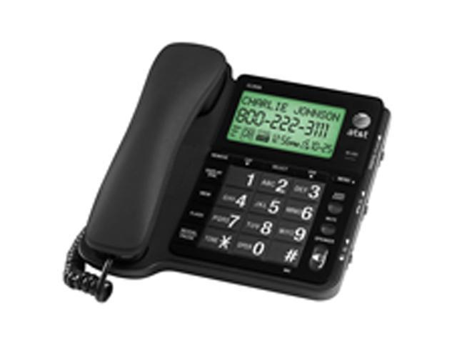 AT&T CL2939 Corded Speakerphone with Large Tilt Display