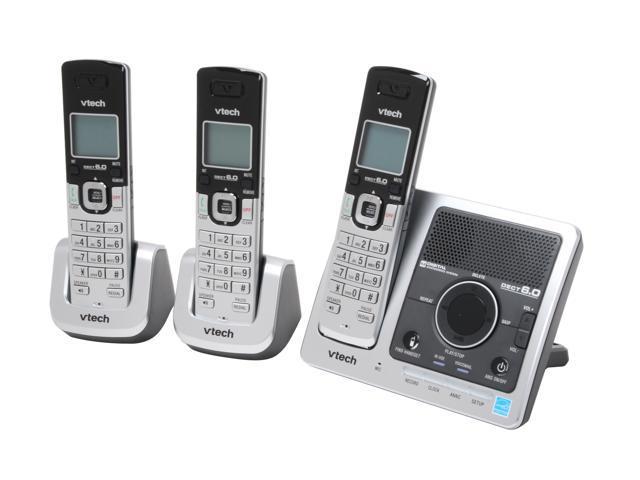 Vtech DS6121-3 3 Handset Cordless Phone