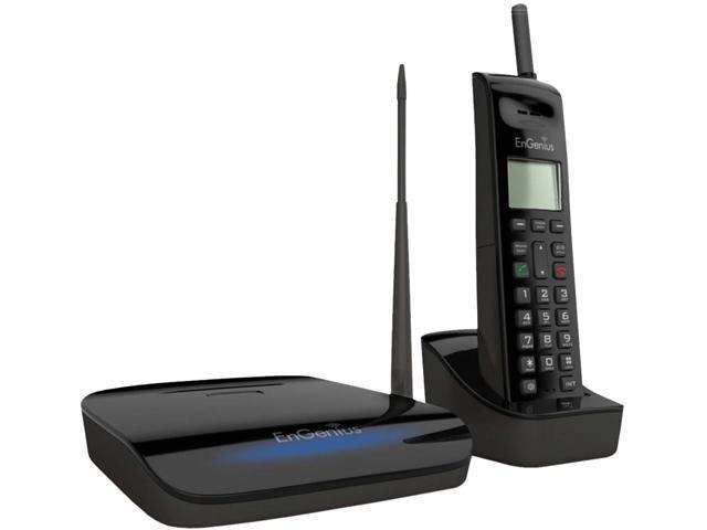 engenius freestyl 2 range cordless phone system newegg