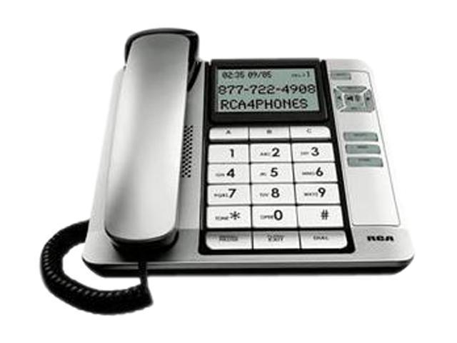 RCA 1113-1BSGA 1-line Operation Corded Desktop Caller ID Phone