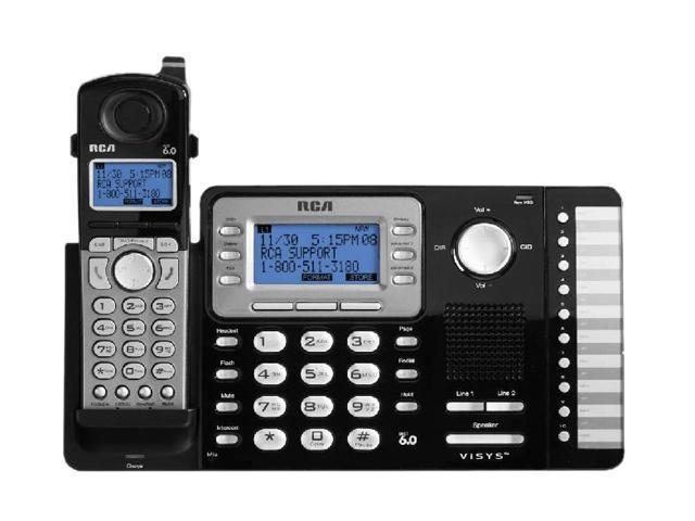 RCA 25212 Digital DECT 6.0 1X Handsets Cordless Expandable Phone System