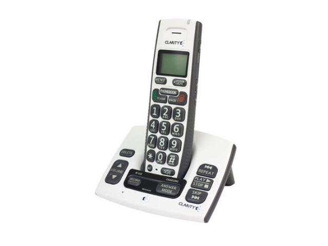 Clarity 50615.000 DECT 6.0 1X Handsets Cordless Phones Integrated Answering Machine