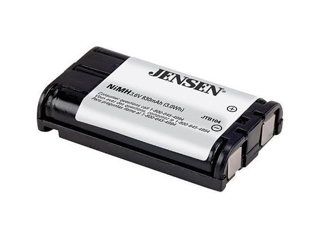 JENSEN JTB104 Cordless Phone Battery for Panasonic HHR-P104A