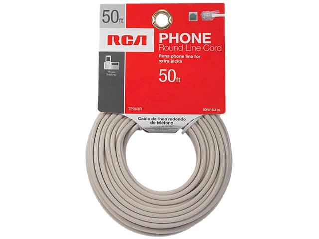 RCA TP003R 50' Phone Hook Up Wire