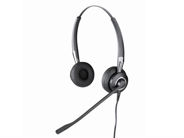 Jabra 2409-700-105 BIZ 2400 Duo, UNC (Ultra Noise-cancel) Headset