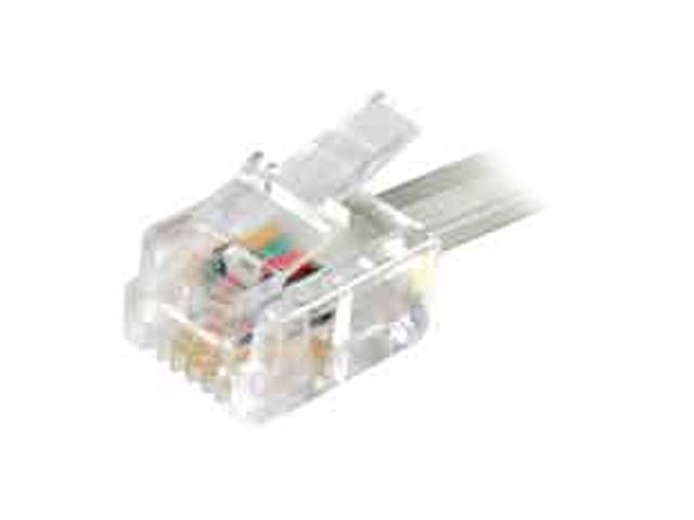 AT&T 89-0052-00 2' Line Cord CLEAR