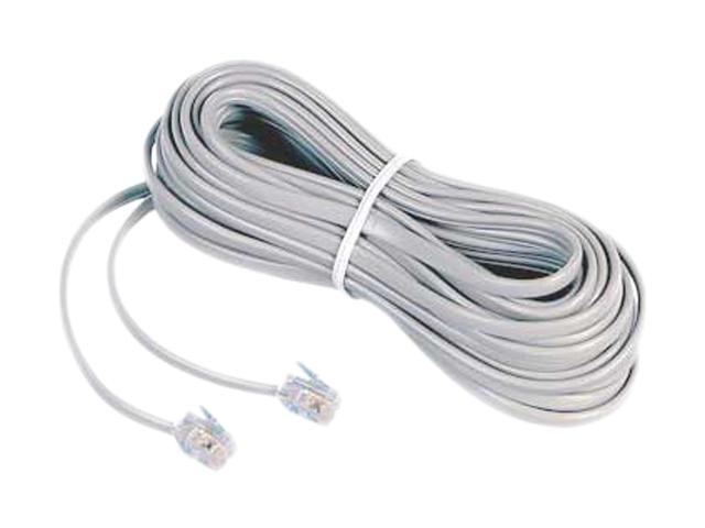 AT&T 89-0057-00 25FT Telephone Line Cord White