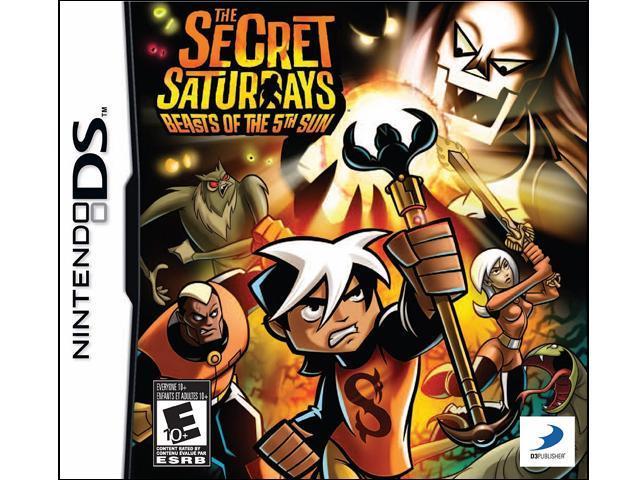 Secret Saturdays: Beasts 5th Sun Nintendo DS Game