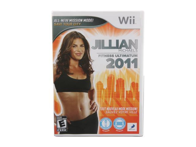 Jillian Michaels Fitness Ultimatum 2011 Wii Game