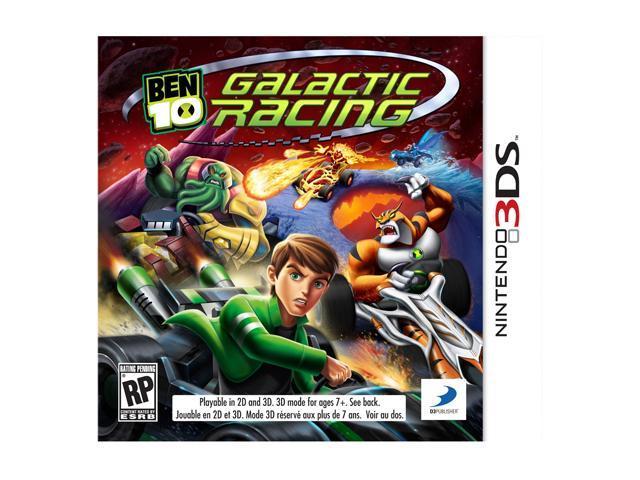 Ben 10: Galactic Racing Nintendo 3DS Game