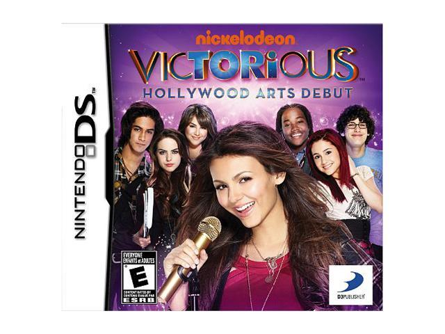 Victorious: Hollywood Arts Debut Nintendo DS Game