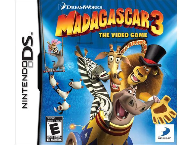 Madagascar 3: The Video Game Nintendo DS Game