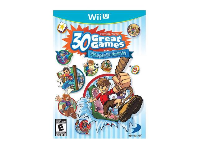 Family Party: 30 Great Games Obstacle Arcade Wii U Games