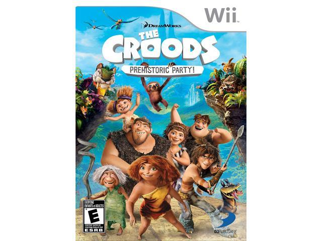 The Croods: Prehistoric Party! Wii Game
