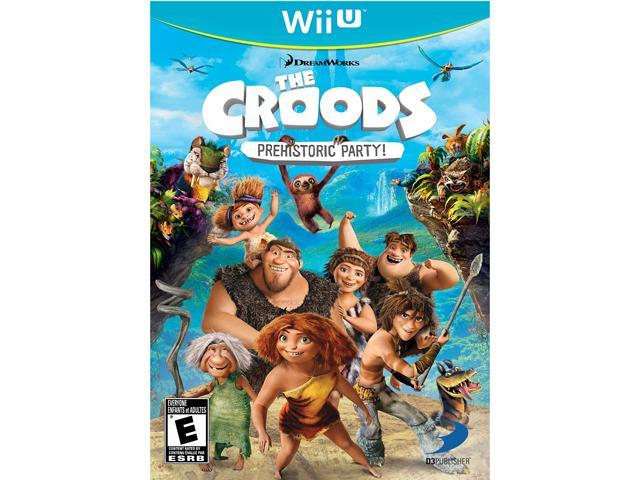 The Croods: Prehistoric Party! Nintendo Wii U
