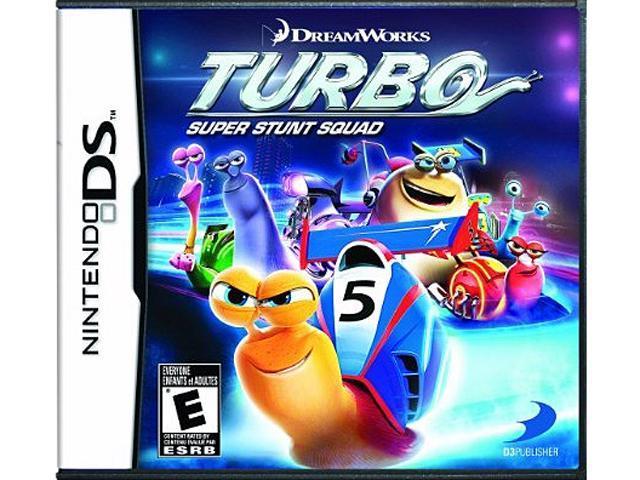 Turbo: Super Stunt Squad Nintendo DS Game