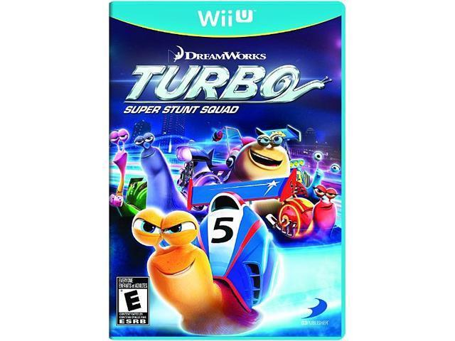 Turbo: Super Stunt Squad Wii U Game