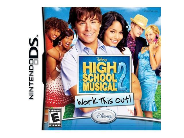 High School Musical 2: Work it Out Nintendo DS Game