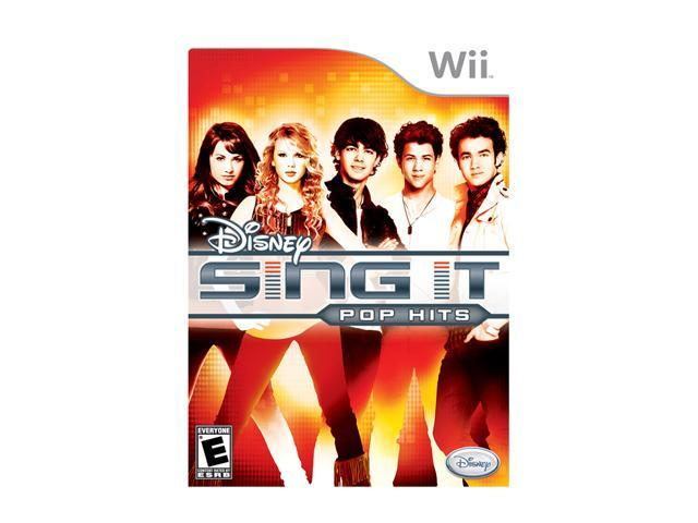 Sing It Pop Hits Wii Game