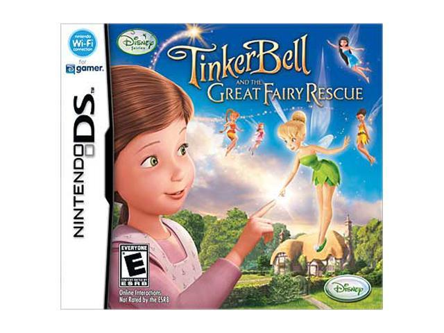 Tinker Bell: Great Fairy Rescue Nintendo DS Game