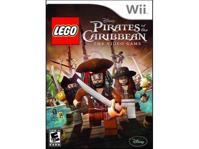 Lego Pirates of the Caribbean: The Video Games Wii Game
