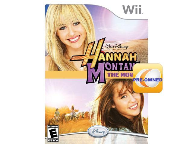 Pre-owned Hannah Montana The Movie  Wii