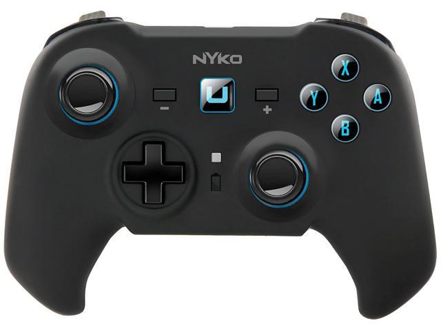 Nyko Pro Commander Wireless controller with traditional analog stick layout for Wii U