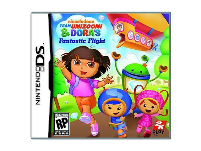 Nickelodeon Dora & Team Umizoomi's Fantastic Flight Nintendo DS Game