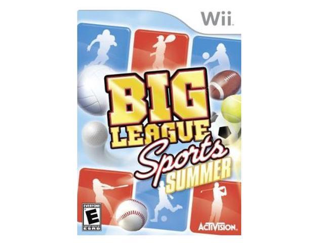 Big League Sports: Summer Sports Wii Game