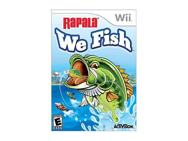 Rapala We Fish (Game Only) Wii Game