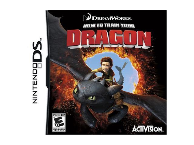 How to Train Your Dragon Nintendo DS Game