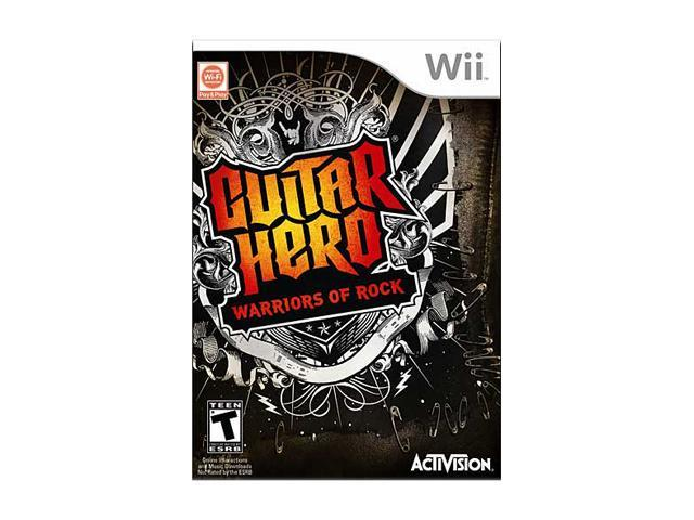 Guitar Hero: Warriors of Rock (Game Only) Wii Game