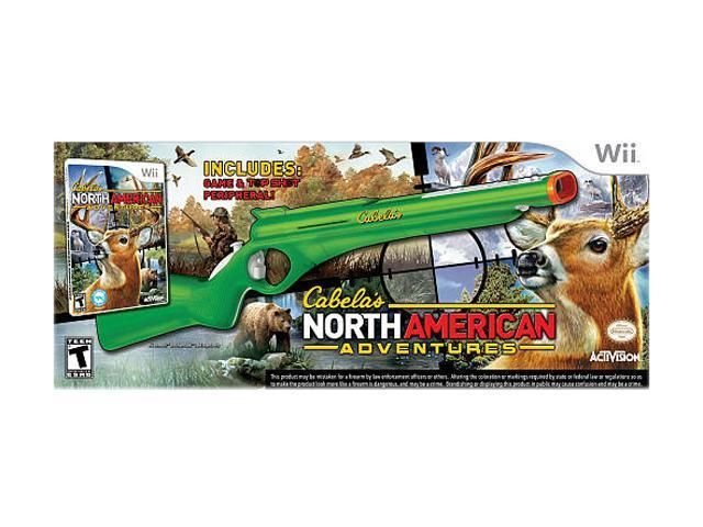 Cabela North American Adventures 2011 w/Gun Wii Game