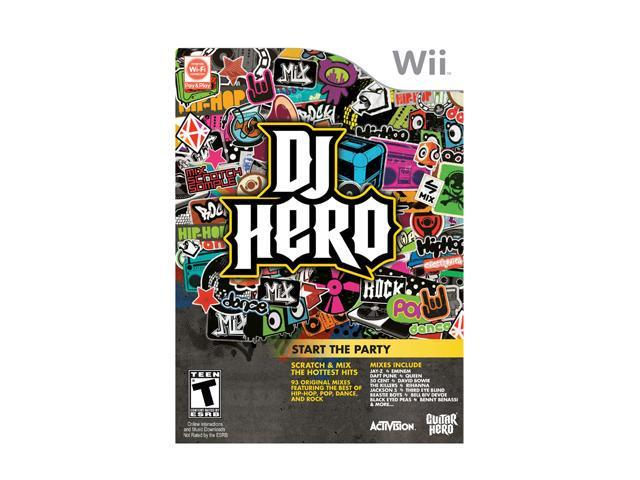 DJ Hero 1 Game Only Wii Game