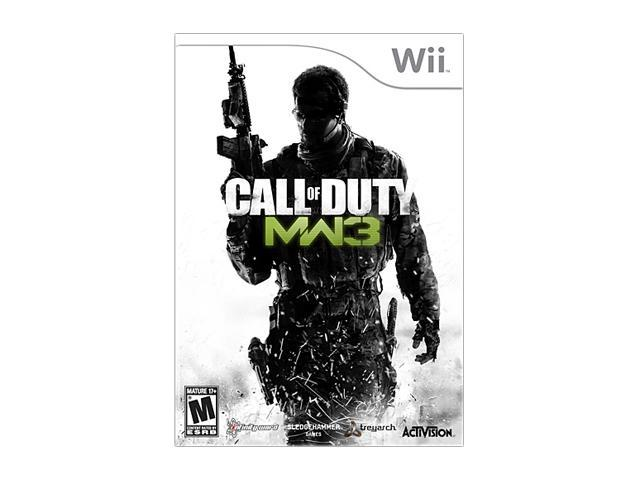 Call of Duty: Modern Warfare 3 Wii Game
