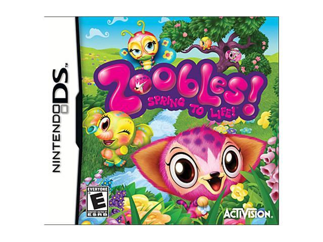 Zoobles Nintendo DS Game