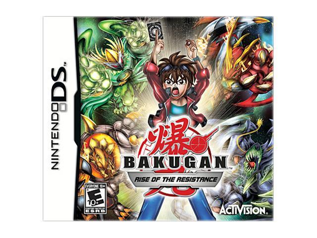 Bakugan: Rise of the Resistance Nintendo DS Game