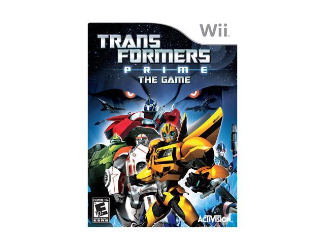 Transformers Prime: The Game Wii Game