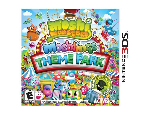 Moshi Monsters: Moshlings Theme Park Nintendo 3DS Game