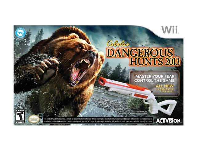 Cabela's Dangerous Hunts 2013 w/gun Wii Game