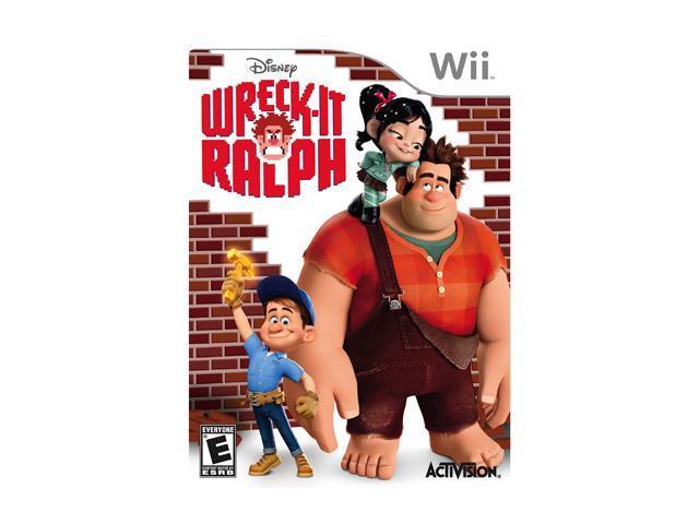Wreck It Ralph Wii Game