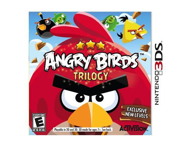 Angry Birds Trilogy Nintendo 3DS Game