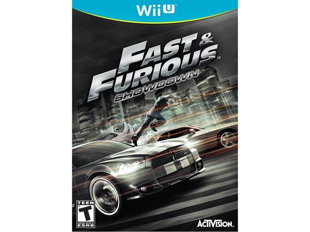 Fast and Furious: Showdown Wii U Game